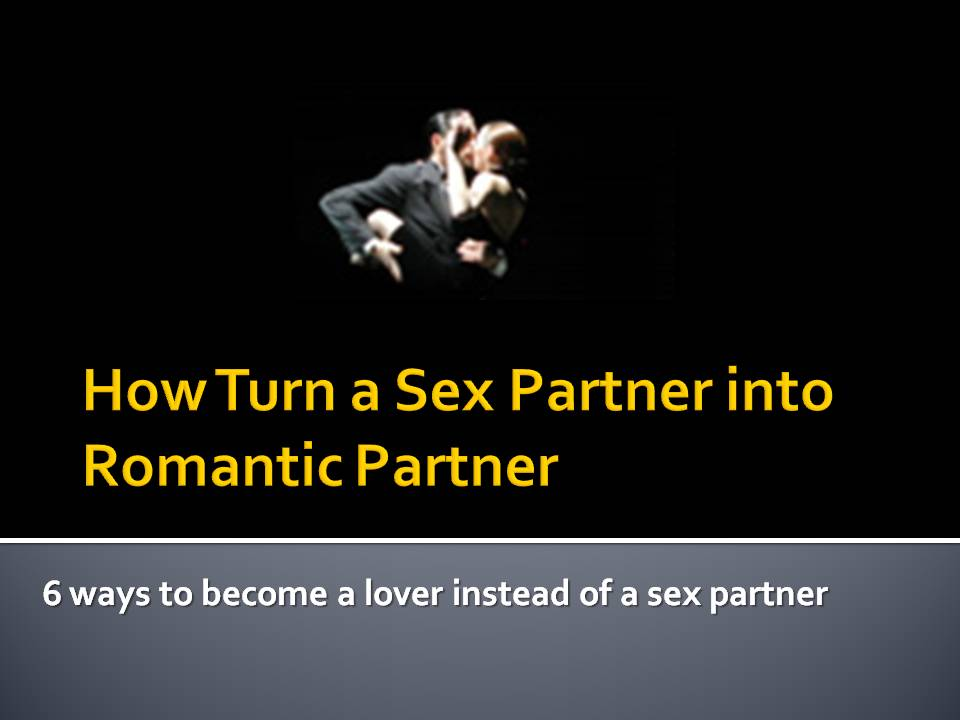 how to find a casual sex partner